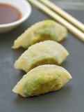 Prawn and Spinach Dim Sum Royalty Free Stock Photo