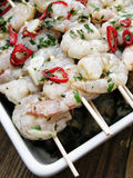 Prawn sticks Stock Images