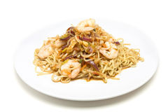 Prawn Stir fry Royalty Free Stock Photos