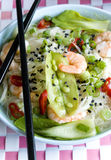 Prawn sweet sour soup Stock Images