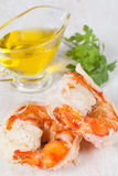 Prawn tails Royalty Free Stock Image