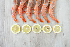 Prawn Tails Royalty Free Stock Photography