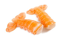 Prawn tails Royalty Free Stock Images