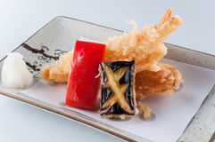 Prawn tempura Stock Photography