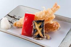 Prawn tempura Stock Photography