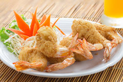 Prawn tempura Thai food Royalty Free Stock Photos