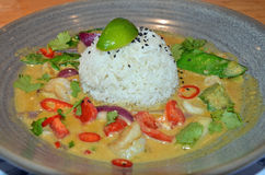 Prawn Thai Curry Stock Photos