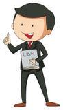 prawnik royalty ilustracja