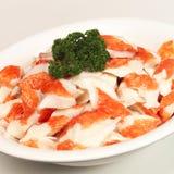 Prawns. A platter of yummy prawns Royalty Free Stock Photos
