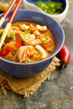 Prawns and cashew curry Stock Image