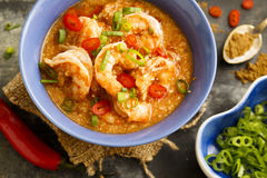 Prawns and cashew curry Stock Images