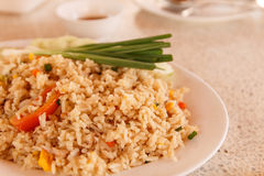 Prawns fried rice Stock Photos