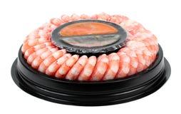 Prawns isolated on a White Background. Shrimps. Prawns isolated on a White Background. Seafood Royalty Free Stock Photo