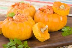 Prawns in Pumpkin Royalty Free Stock Image