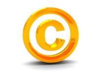 prawo autorskie Obrazy Stock