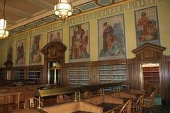 Prawo biblioteki Czytelniczy pokój, Ohio Sądowy centrum, sąd najwyższy Ohio, Kolumb Ohio Obraz Stock