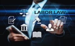 Prawo Pracy prawnika technologii Legalny Biznesowy Internetowy pojęcie obraz royalty free