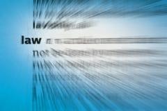Prawo - prawo i porządek fotografia royalty free