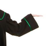 prawo Pusta ręka pokazuje puste miejsce kopii przestrzeń prawnik Obrazy Stock