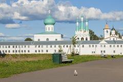 Prawosławny monaster Zdjęcie Royalty Free