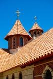Prawosławny monasteru dachu wierzchołek Zdjęcie Stock