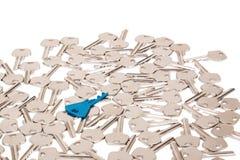 Prawy klucz Fotografia Stock