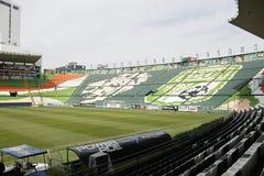 Prawy widok siedzenia Estadio Leon, Leon, Guanajuato zdjęcia stock