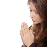 Pray Royalty Free Stock Images