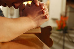 Pray Stock Photography