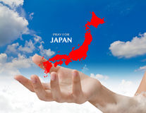 .Pray for JAPAN. Earthquake Crisis. Pray for JAPAN. Earthquake Crisis Stock Images