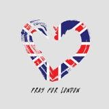 Pray For London. Stock Image