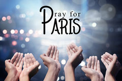 Pray For Paris Royalty Free Stock Images