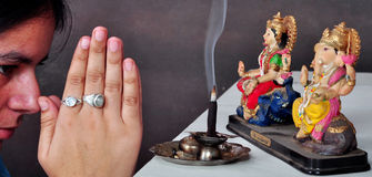 Pray to god Royalty Free Stock Photo