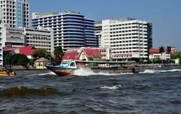 Μπανγκόκ, Ταϊλάνδη: Ποταμός Praya Chao Στοκ Φωτογραφίες