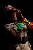 The prayer Royalty Free Stock Photography