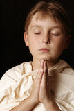 Daily Prayer Stock Image