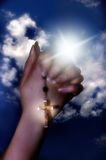 Prayer stock photography