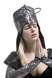 Prayer. A little prayer royalty free stock photos