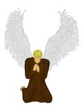 Prayer of an angel Stock Images