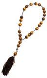 Prayer bead isolated on white Royalty Free Stock Photo