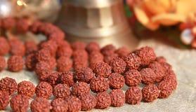 Prayer beads stock image