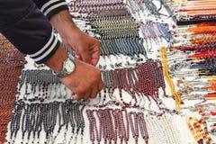 Prayer beads Stock Photography