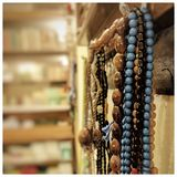 Prayer beads in Mosque Royalty Free Stock Photos