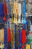 Prayer beads. To mark repetitions of prayers Royalty Free Stock Photos