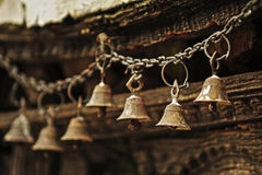 Prayer bells Stock Images
