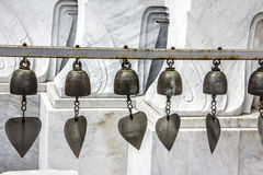 Prayer bells Stock Photo