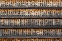 Prayer Board in Tokyo Zojo-Ji temple Royalty Free Stock Image