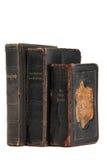 Prayer book. Stack of very old prayer books Stock Photos