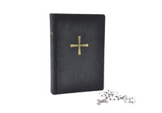 Prayer book with chaplet Stock Image