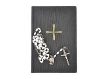 Prayer book with chaplet Royalty Free Stock Image